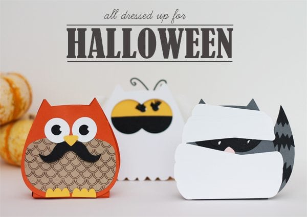 Halloween Little Critters Trio
