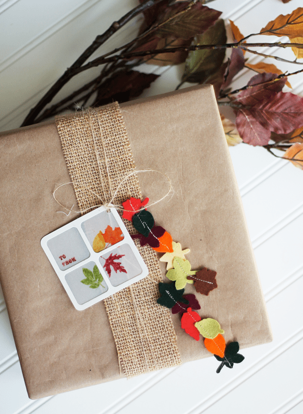 Box-with-Tassles Fall Leaflets