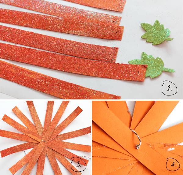 Glitter-Pumpkin Instructions Step 2