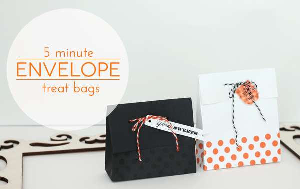 Envelope Treat Bag Tutorial Header