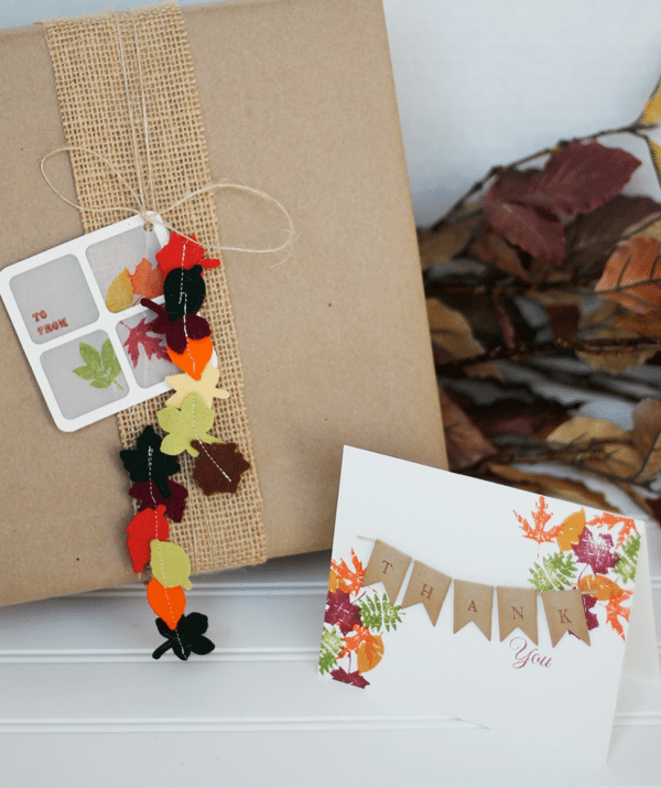 Clear and Simple Stamps Fall Frenzy Gift and Card
