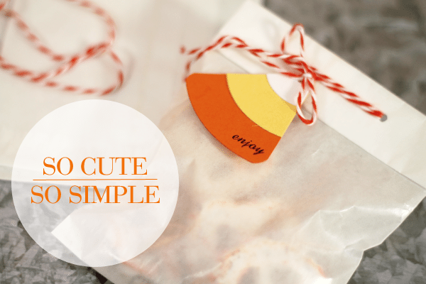 Candy Corn Tags Packaging