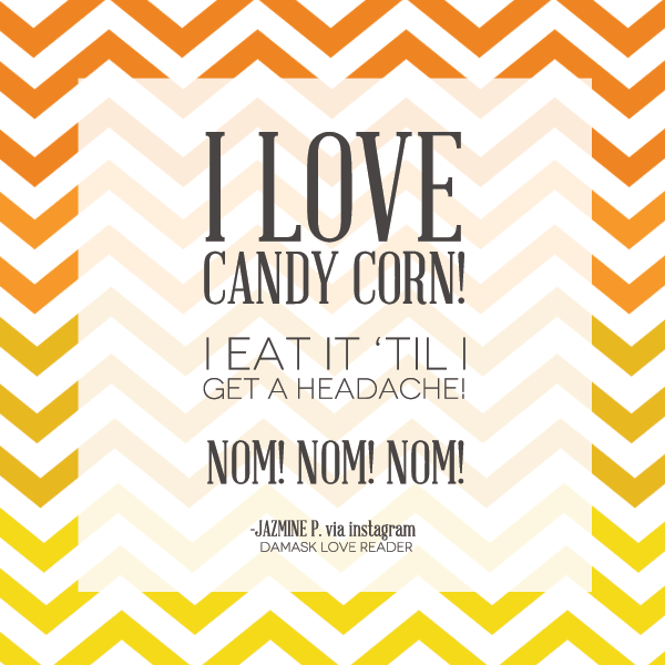 Quote about Candy Corn