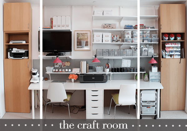 Office Hours Craft Room Tour Damask Love