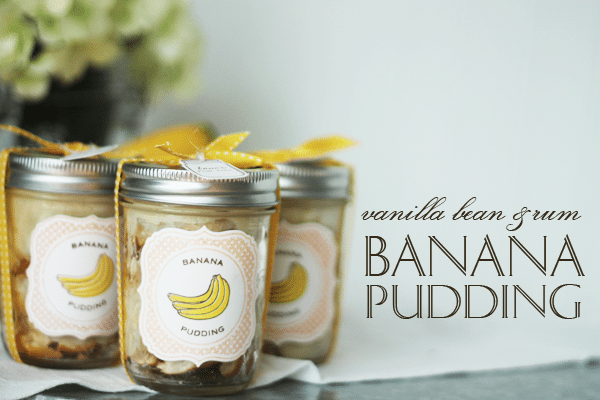 CSS Banana Pudding Favors