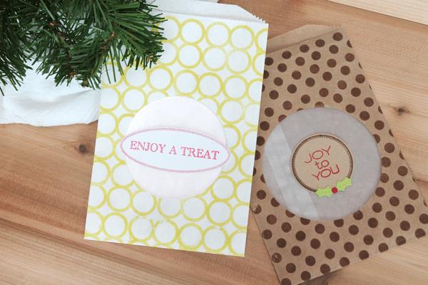 DIY Glassine Cookie Treat Bag