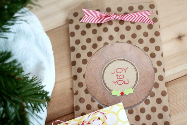 DIY Glassine Cookie Treat Bag Kraft