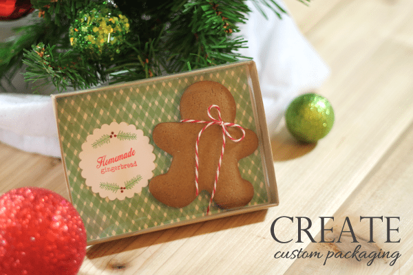 Gingerbread Patterned Paper Packaging | Damask Love Blog