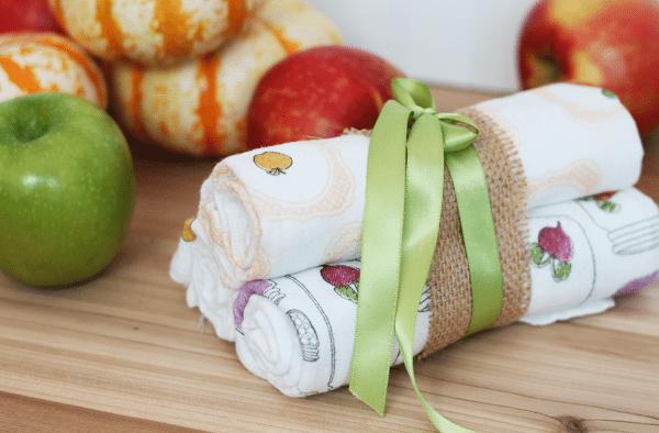 Tea Towels Packaged