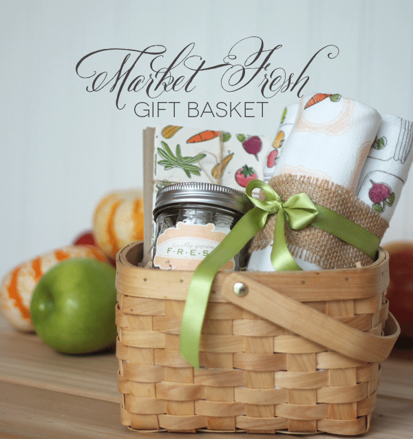 Market Fresh Gift Basket Header image