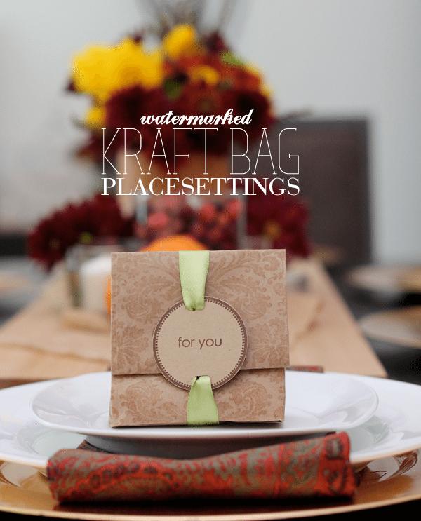 Kraft-Bag-Placesettings