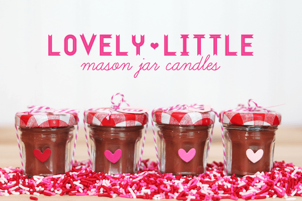 Mini Mason Jar Candles
