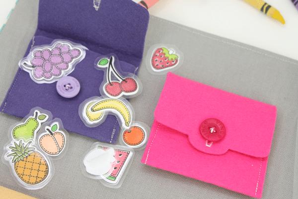 Busy Book Felt Envelopes