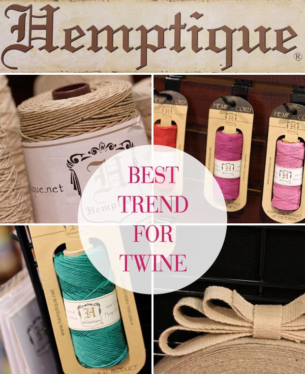 2013 CHA: Best Trend in Twine