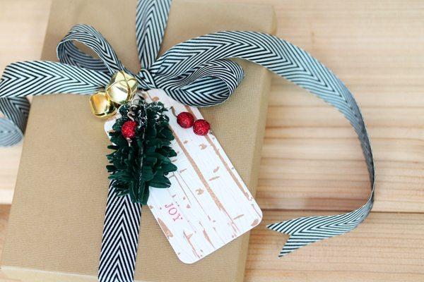 Birch Tag Gift