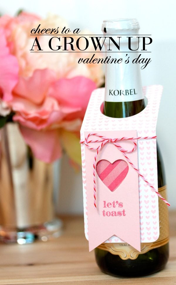 Champagne Split Valentine's Day Gift