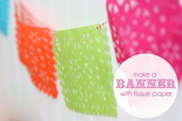 Lifestyle Crafts Doily Banner Die: Make a Banner