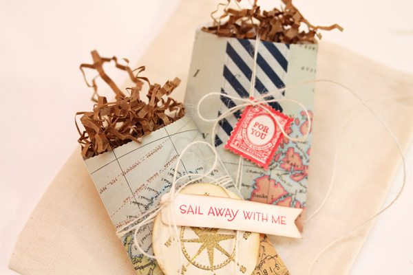 Map Inspired Stationery Bags2