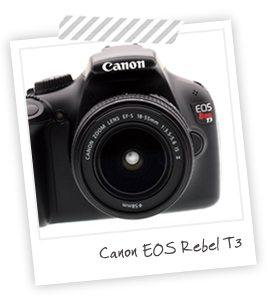 Equipment I Use: Canon Rebel T3 | Damask Love Blog