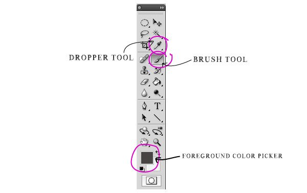 Dropper-and-Brush-Tools