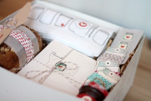 Spread the Love in a Box Contents | Damask Love Blog