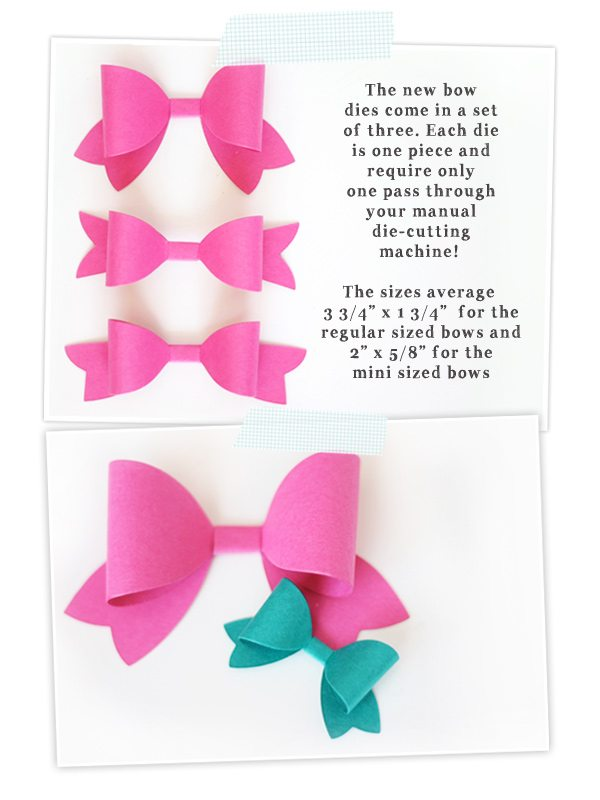 Simply Crafty : Bow Sizes | Damask Love Blog