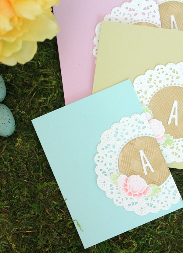 Spring Monogram Stationery Set | Damask Love Blog