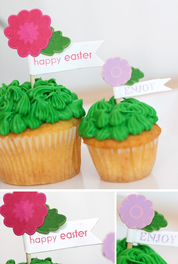 Handmade Baskets: Cupcake Liners2 | Damask Love Blog