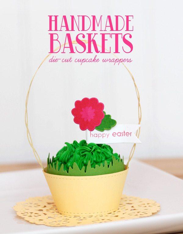 Cestas artesanais: cabeçalho forros Cupcake | damasco Blog Amor