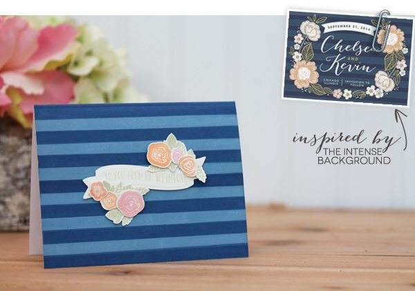 Design Inspired: Floral & Stripes Navy | Damask Love Blog