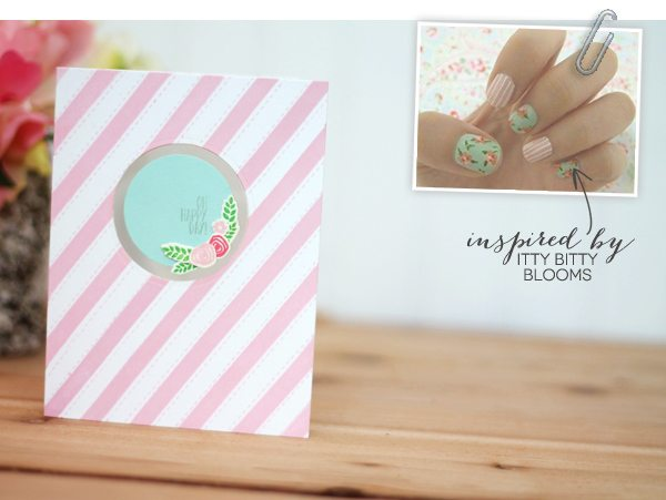 Design Inspired: Floral & Stripes Pink & Teal  | Damask Love Blog