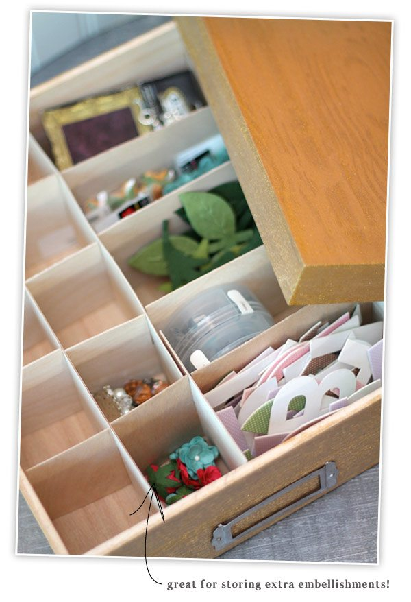 Double Duty DIY with Martha Stewart Project Paints Embellishment Storage | Damask Love Blog