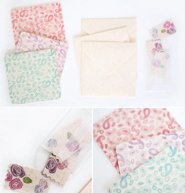 Fabric Tape Card Set | Damask Love Blog