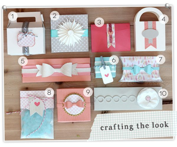 Simply Crafty: Gift Packaging Crafting the Look | Damask Love Blog