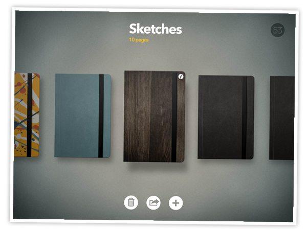 Sketchbook Screen Paper 53 App | Damask Love Blog