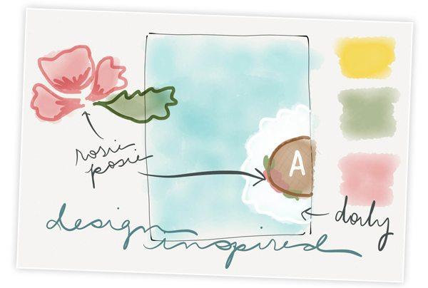 Sketching Example Paper 53 App | Damask Love App