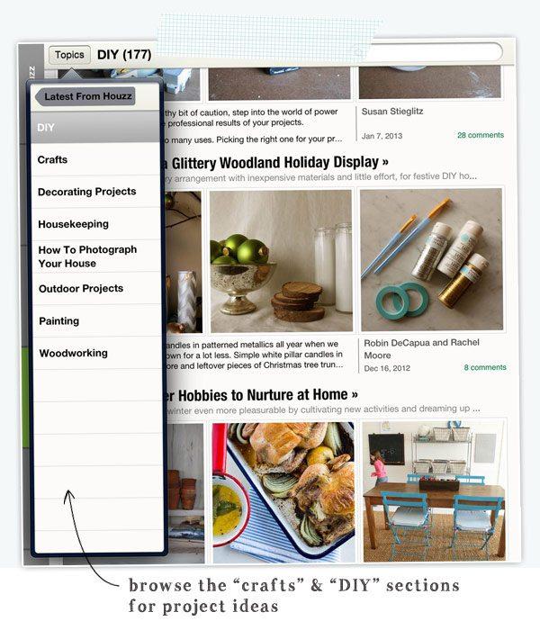 Must Have Craft Apps: Houzz Navigate | Damask Love Blog