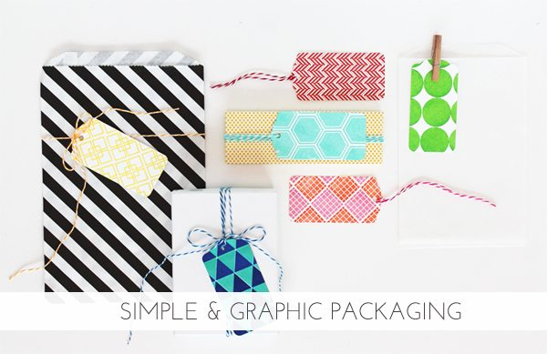 Clear and Simple Stamps: Stamped Graphic Designs Gift Ideas | Damask Love Blog