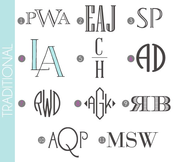 monograms made easy traditional fonts damask love blog