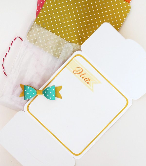 Style Watch: Easy Two Toned Die Cut Bows | Damask Love Blog