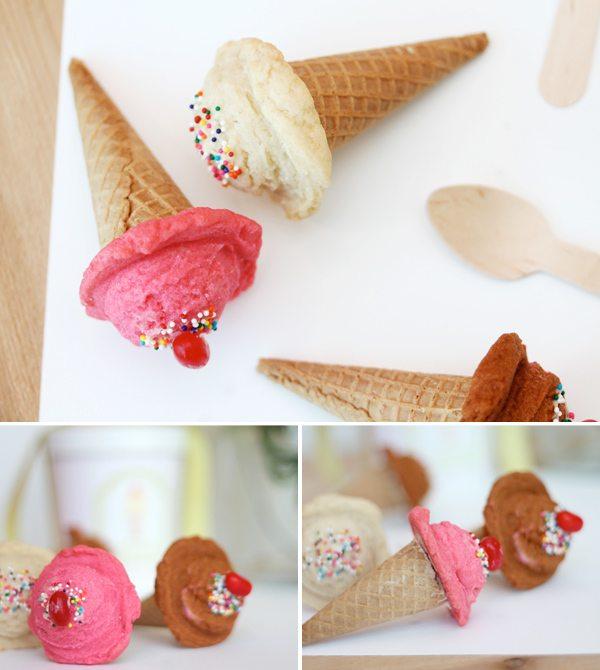 DIY Sugar Cookie Ice Cream Cones | Damask Love Blog