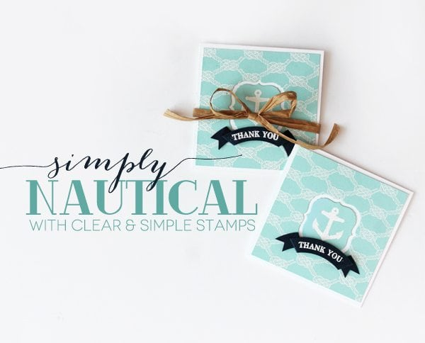 Simply Nautical Stationery | Damask Love Blog