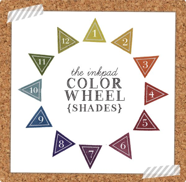 The Crafter's Color Wheel: Shades | Damask Love