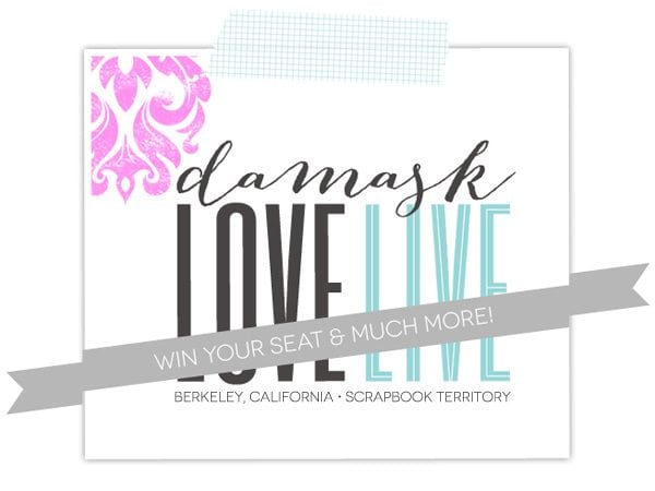 Damask Love Live Win Your Seat