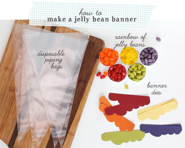 Jelly Bean Banner | Damask Love Blog