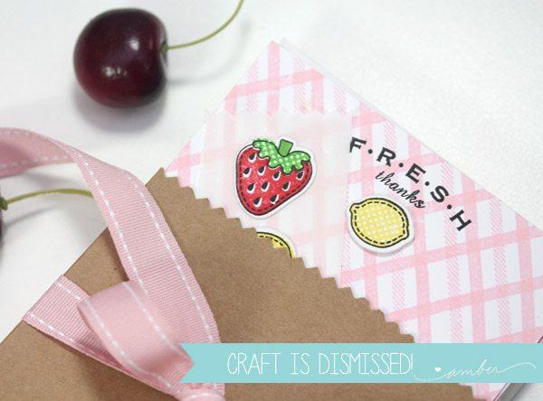 Fresh Fruit Stationery | Damask Love Blog