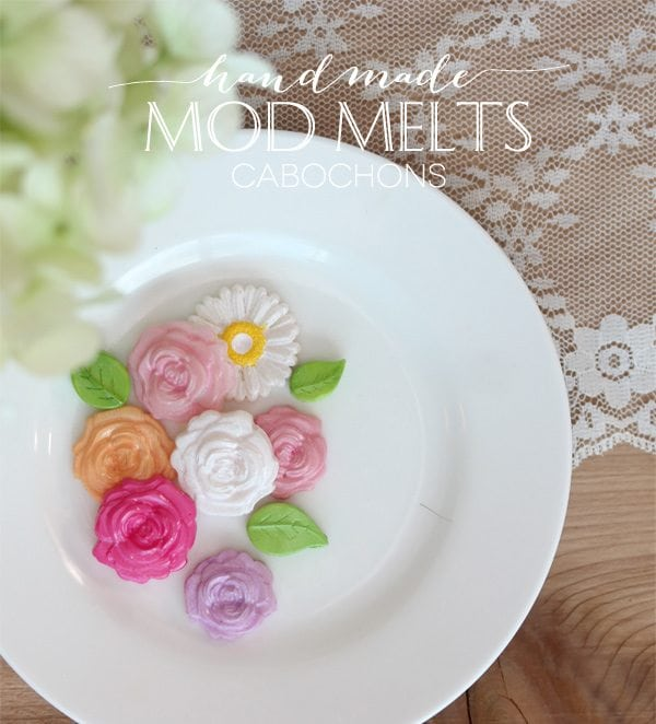 DIY Mod Melts Cabochons | Damask Love Blog