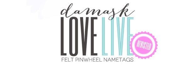 Damask Love Live Revisited: Felt Pinwheels | Damask Love Blog