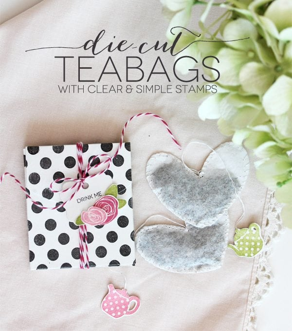 Die Cut Teabag | Damask Love Blog
