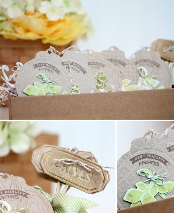 Paper Herb Garden in a Box | Damask Love Blog